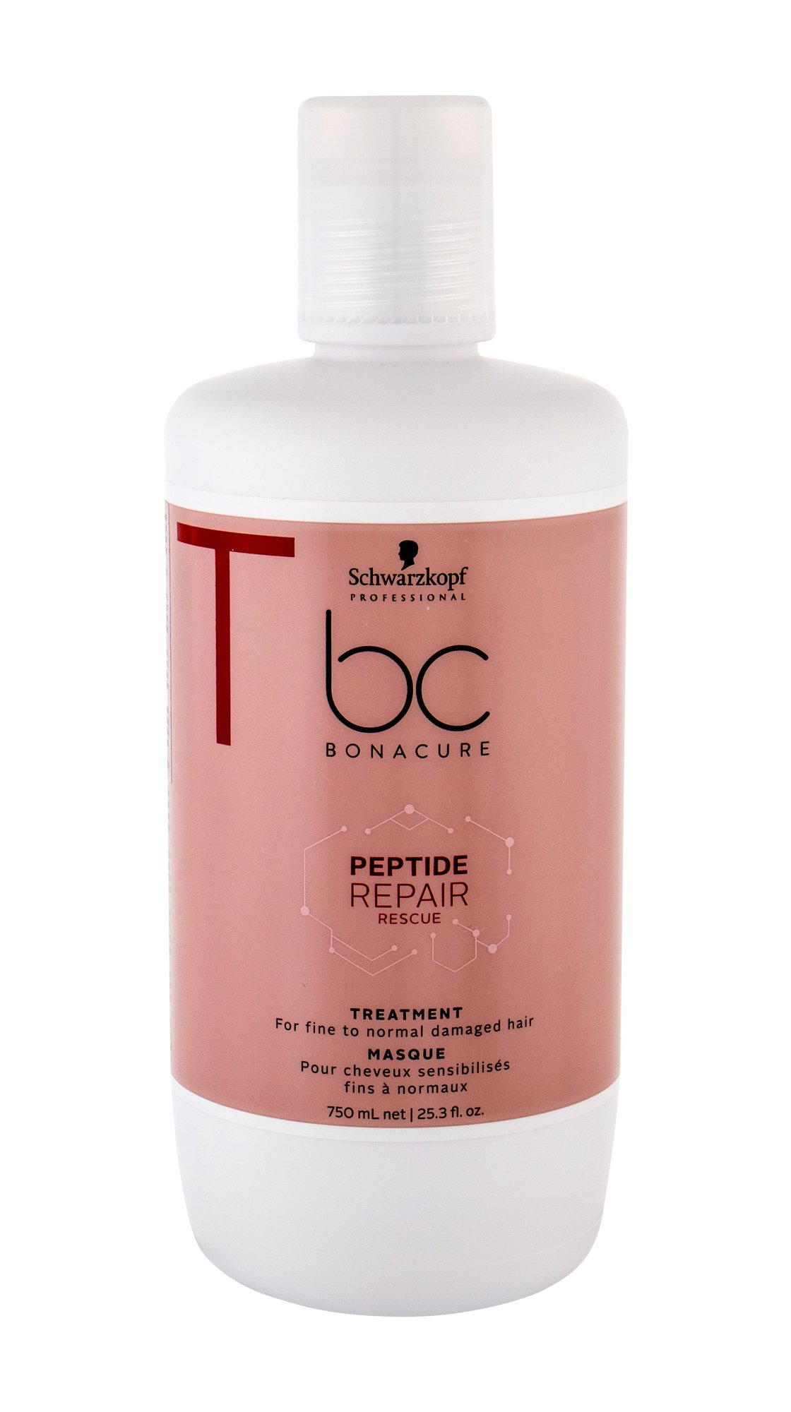 Schwarzkopf BC Bonacure Peptide Repair Rescue Hair Mask 750ml
