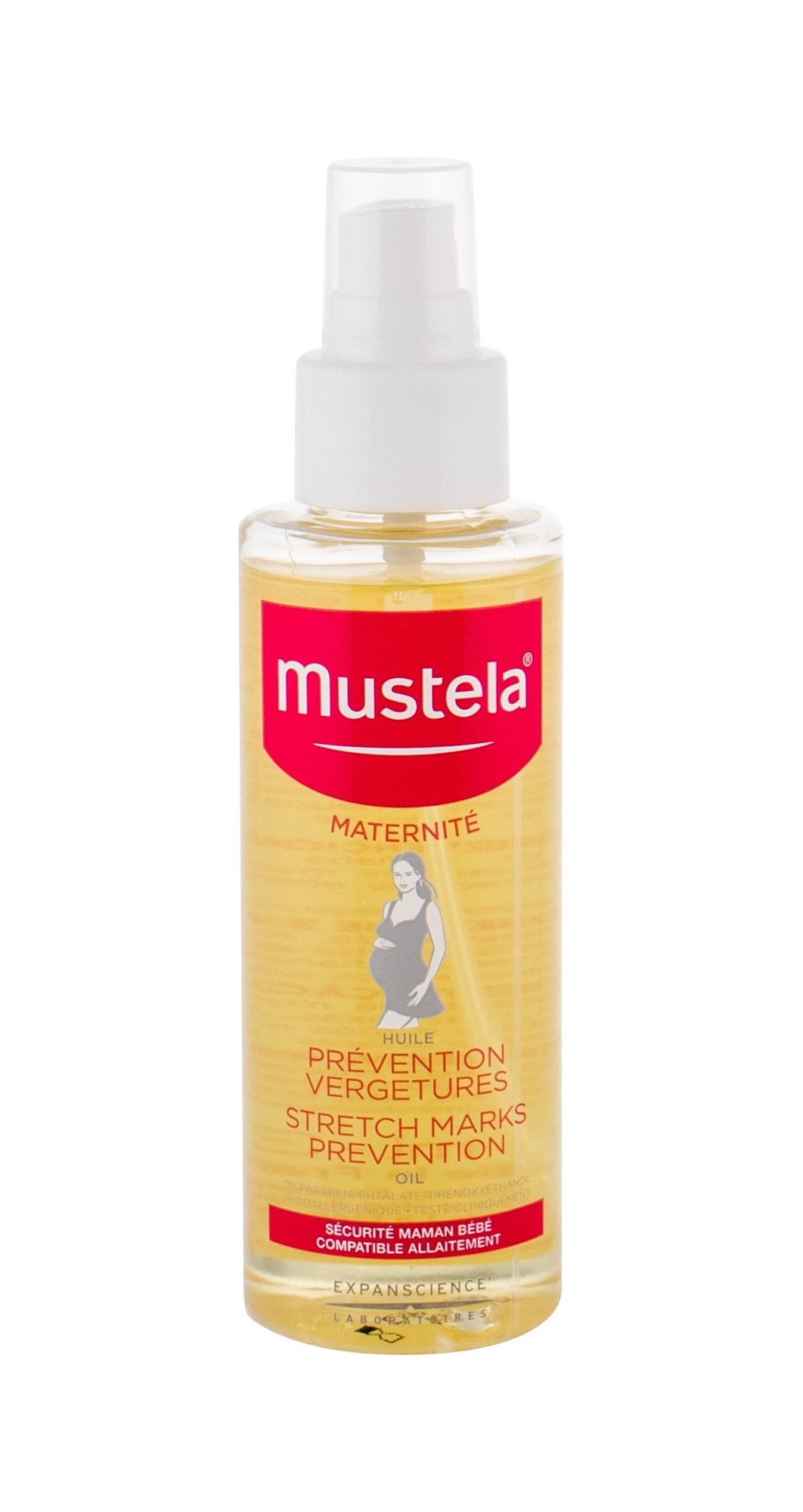 Mustela Maternité Cellulite and Stretch Marks 105ml  Stretch Marks Prevention Oil