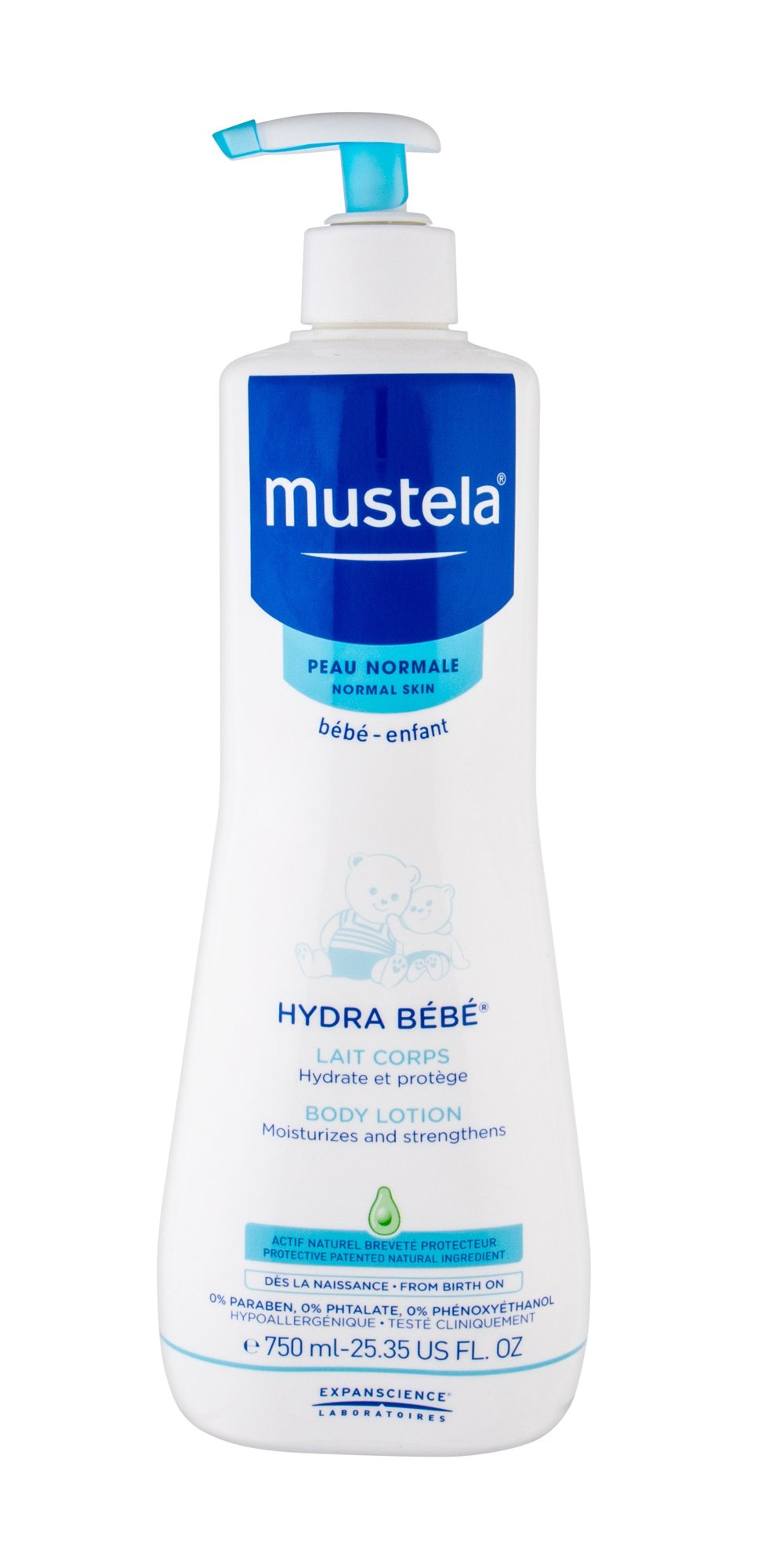 Mustela Hydra Bébé Body Lotion 750ml