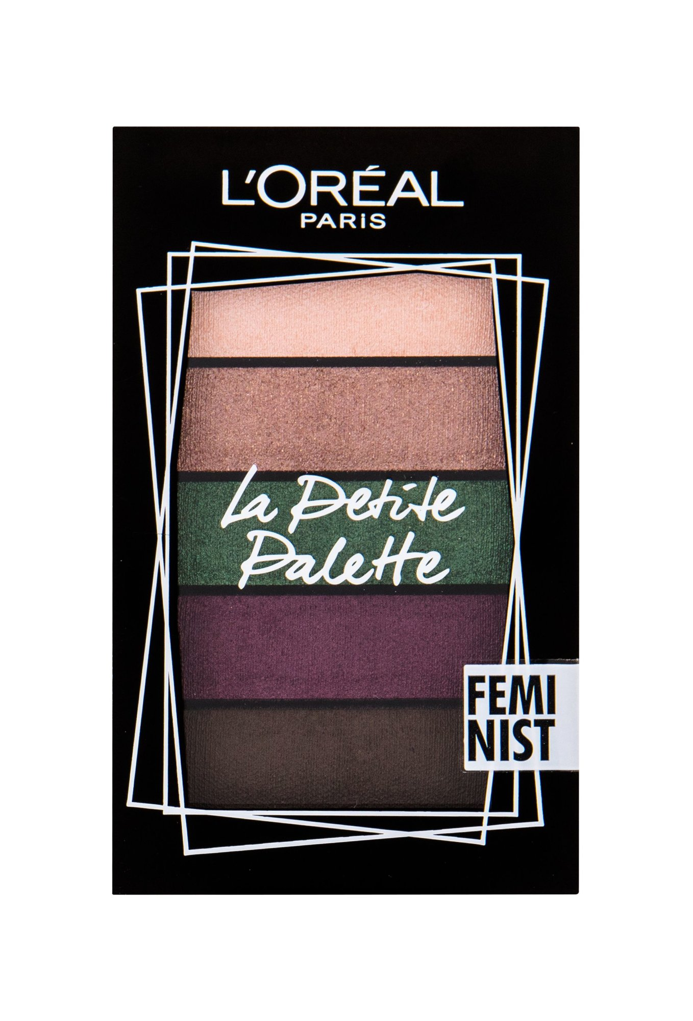 L´Oréal Paris La Petite Palette Eye Shadow 4ml Feminist