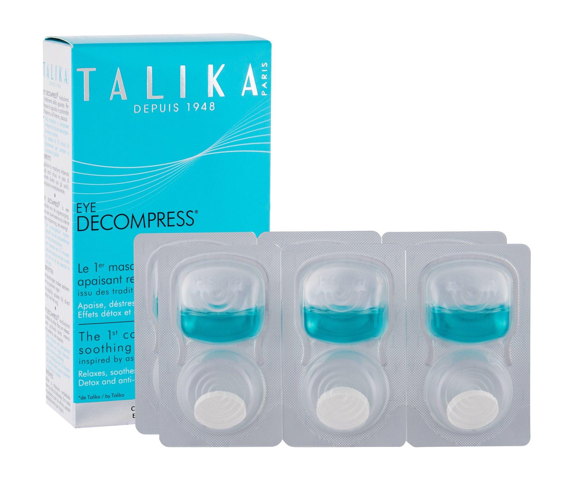 Talika Eye Decompress Eye Gel 6x3ml