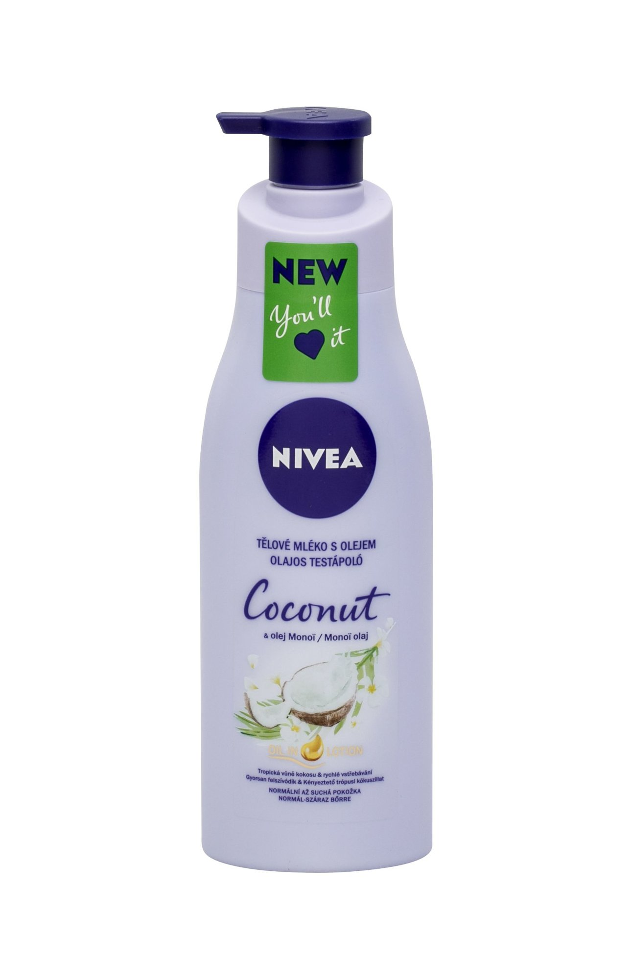 Nivea Coconut & Monoi Oil Body Lotion 200ml