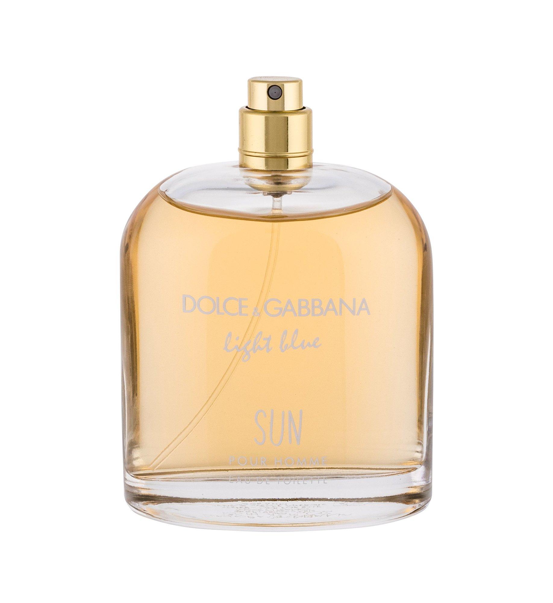 Dolce&Gabbana Light Blue Eau de Toilette 125ml  Sun Pour Homme