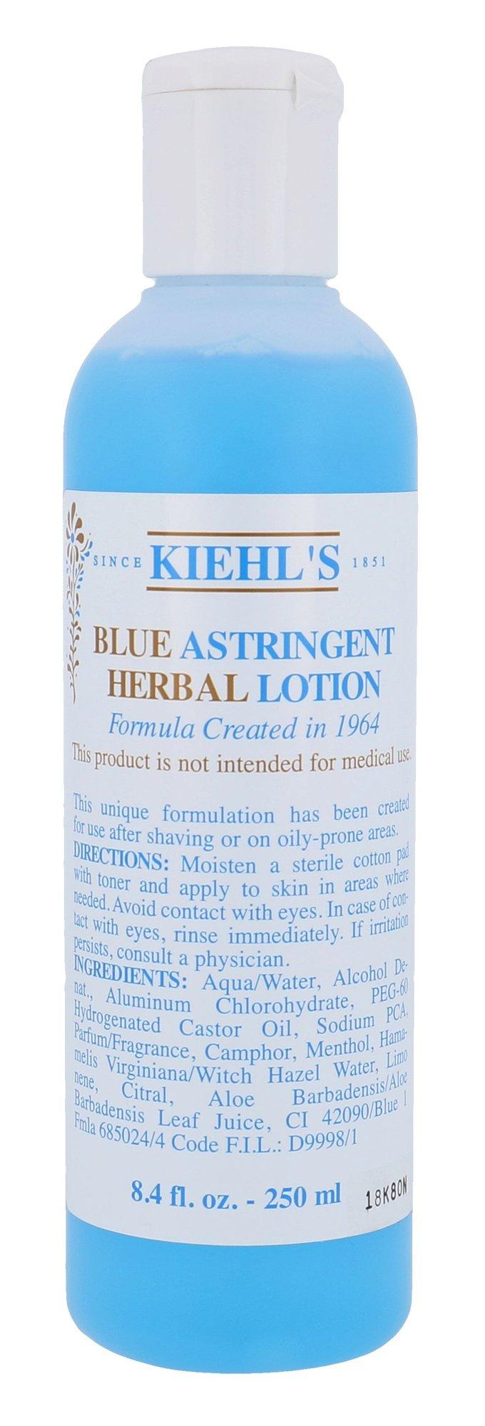 Kiehl´s Blue Astringent Herbal Lotion Cosmetic 250ml