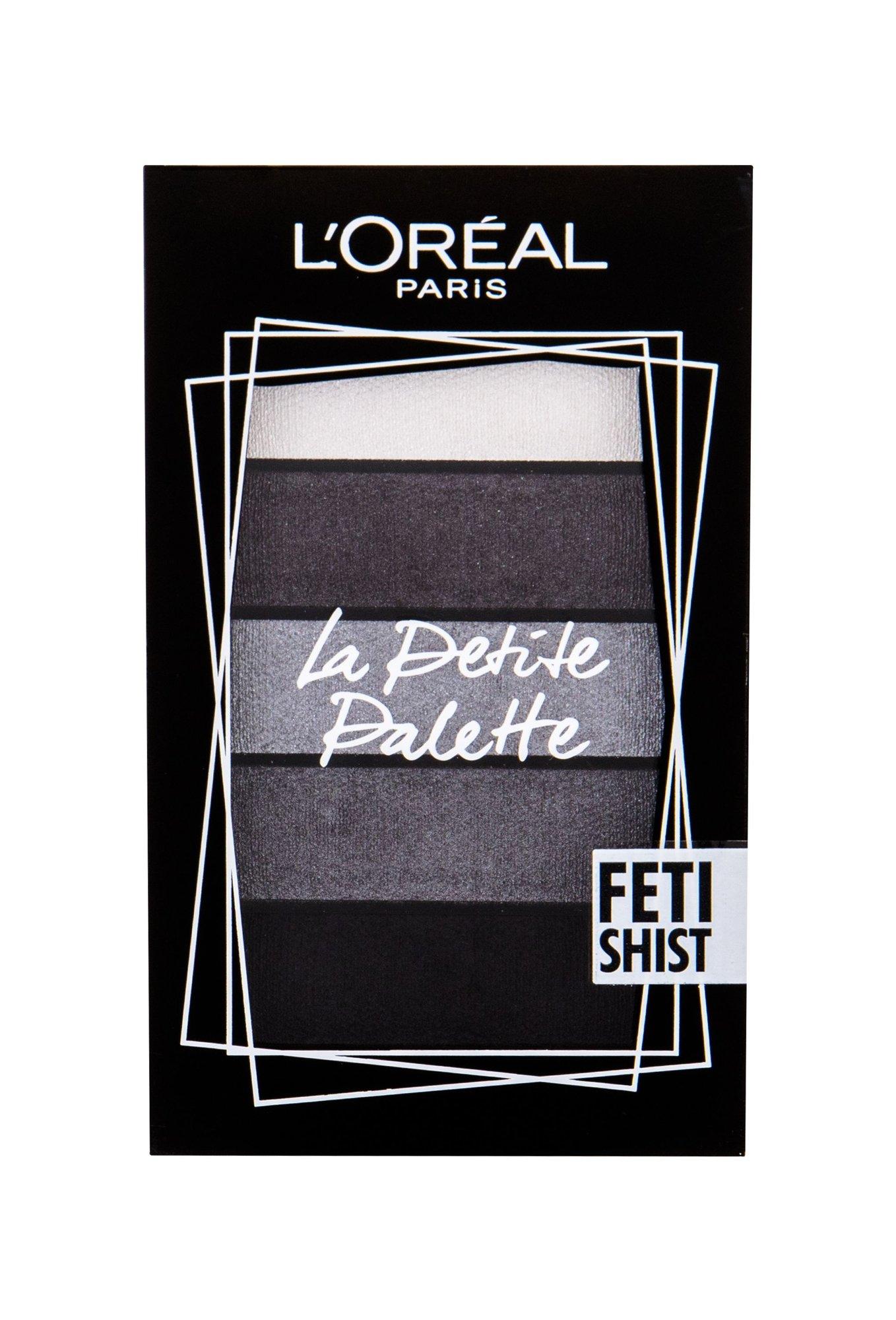 L´Oréal Paris La Petite Palette Eye Shadow 4ml Fetishist
