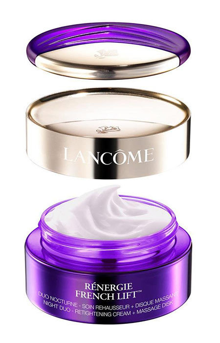 Lancôme Renergie French Lift Cosmetic 50ml  Night Duo-Retightening Cream + Massage Disk