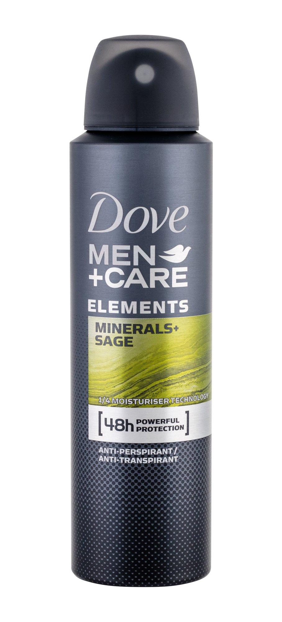 Dove Men + Care Antiperspirant 150ml  Minerals + Sage