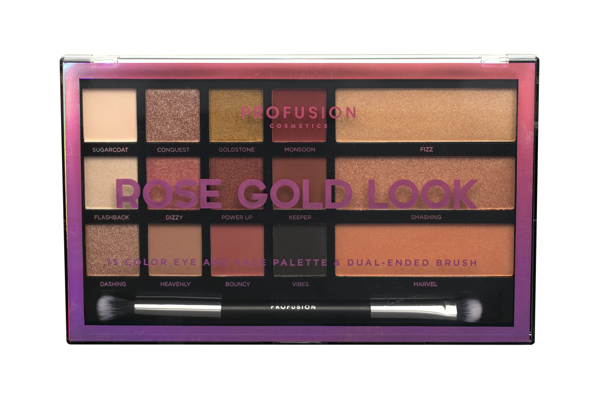 Profusion Rose Gold Look Makeup Palette 33,6ml