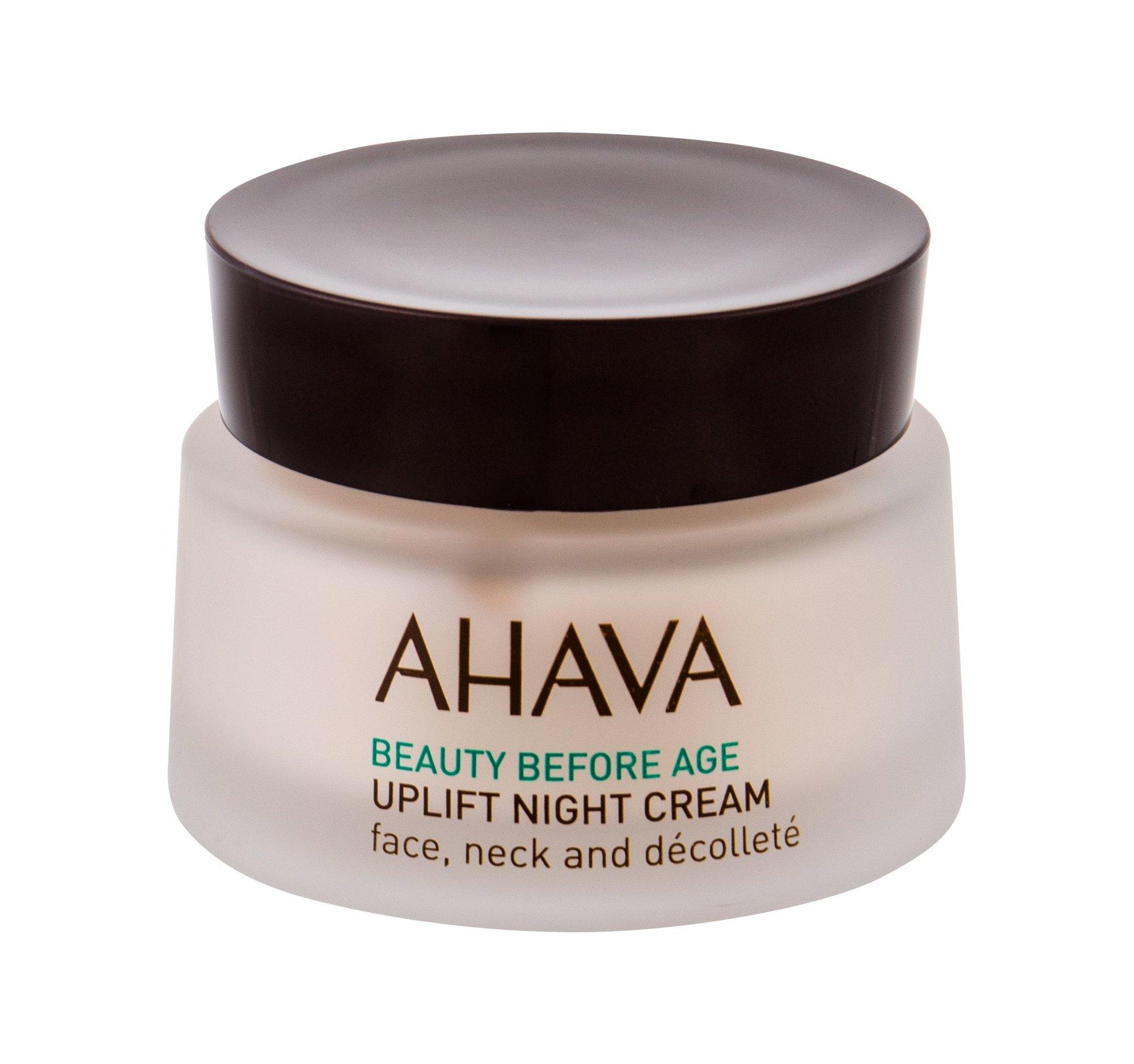 AHAVA Beauty Before Age Night Skin Cream 50ml  Uplift