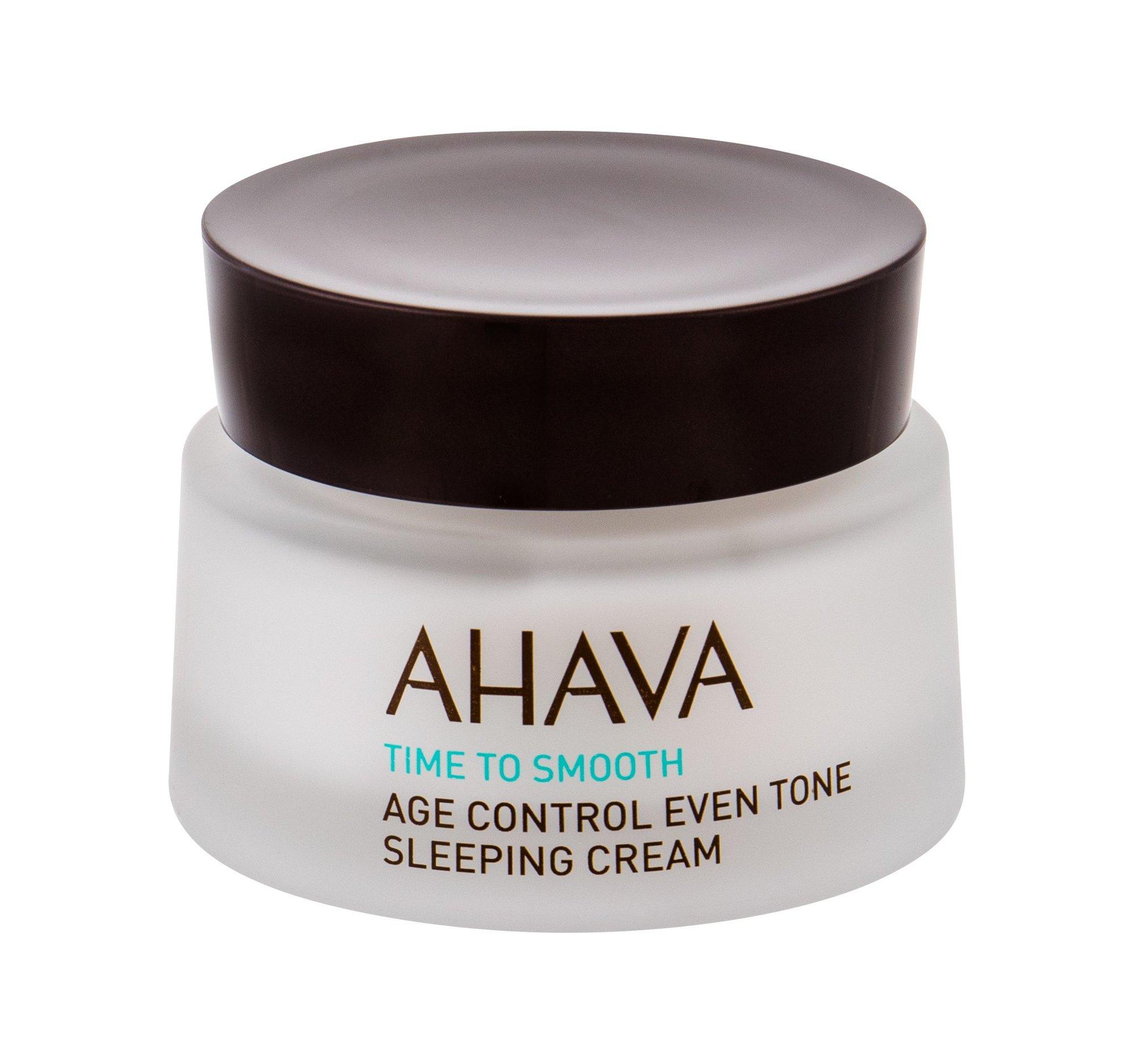 AHAVA Age Control Night Skin Cream 50ml  Time To Smooth