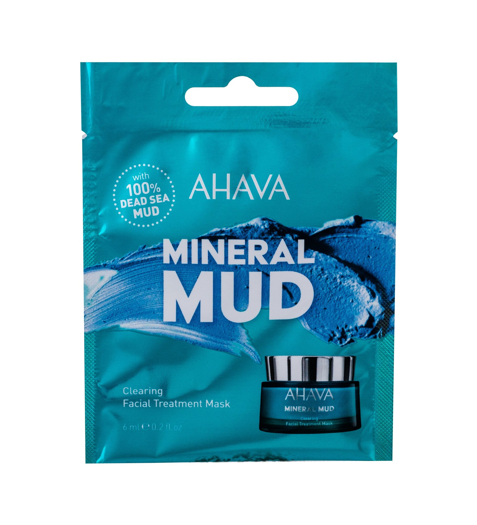 AHAVA Mineral Mud Face Mask 6ml  Clearing