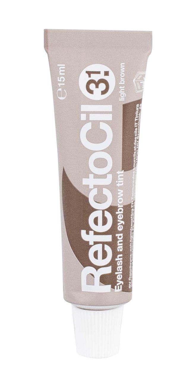 RefectoCil Eyelash And Eyebrow Tint Eyelashes Care 15ml 3.1 Light Brown