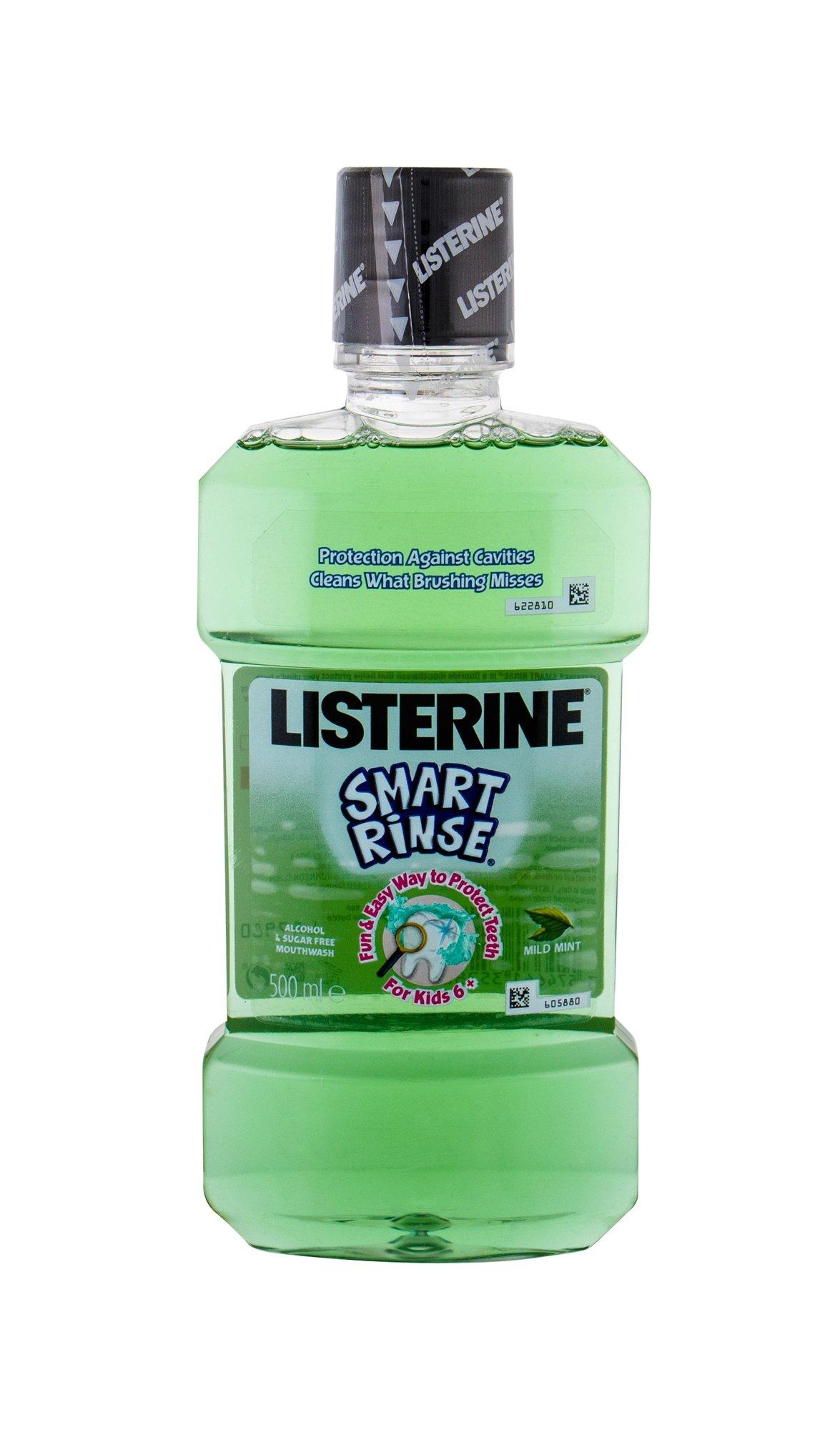 Listerine Smart Rinse Mouthwash 500ml