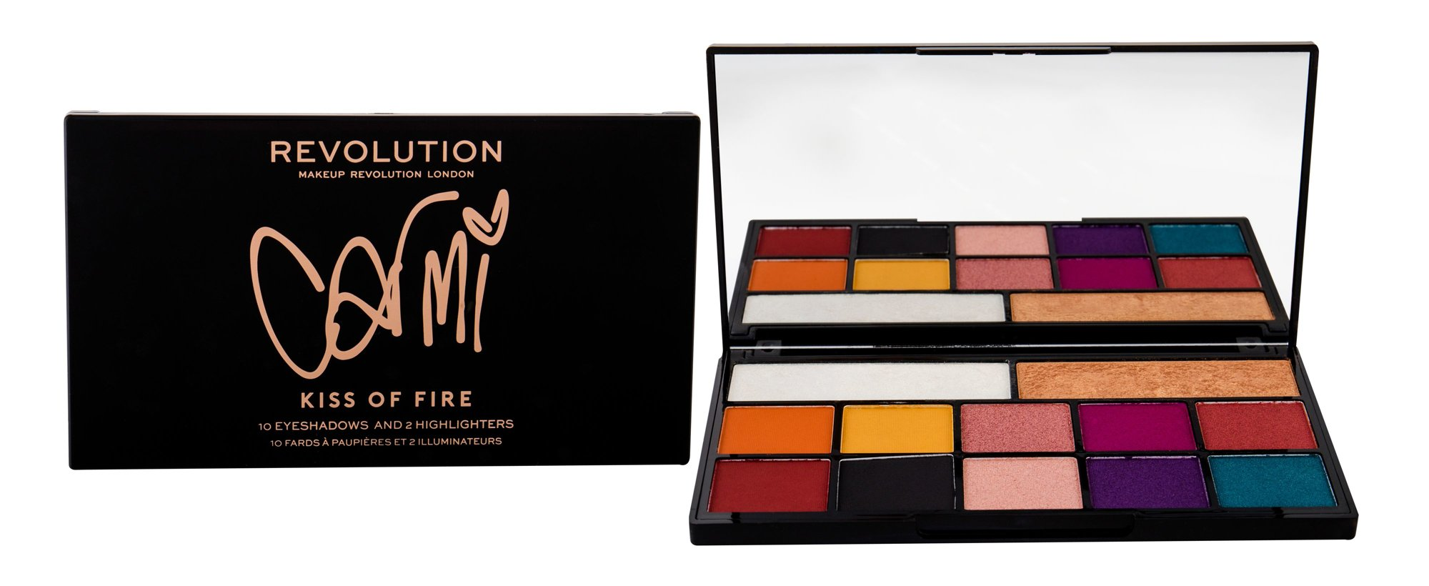 Makeup Revolution London X Carmi Eye Shadow 27ml Kiss Of Fire