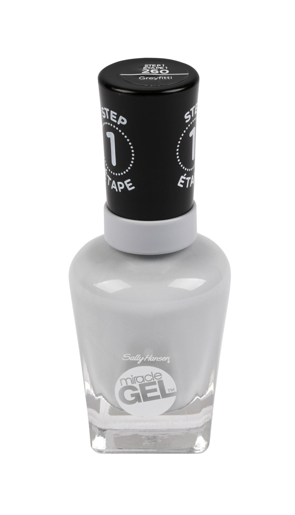 Sally Hansen Miracle Gel Nail Polish 14,7ml 260 Greyfitti