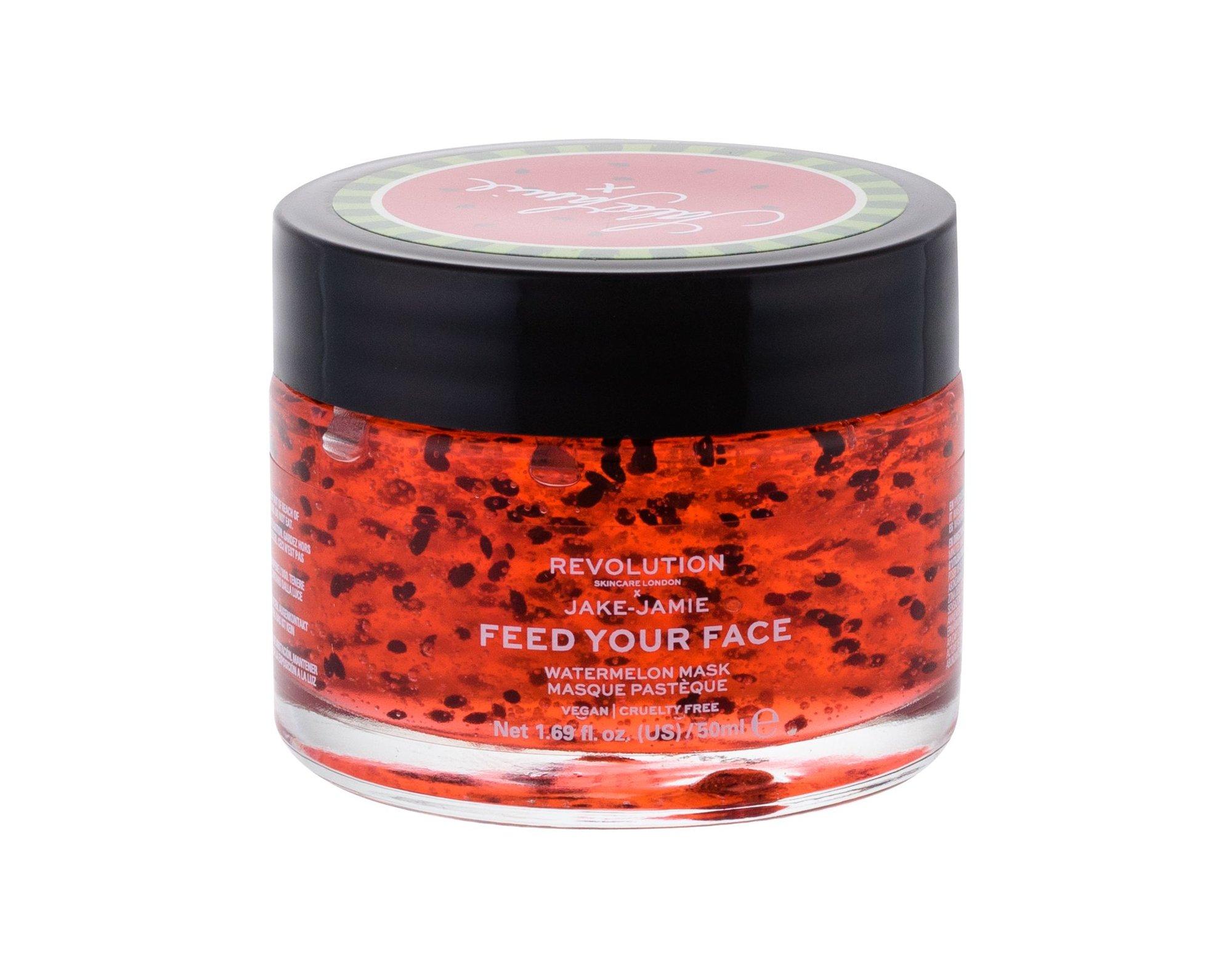 Makeup Revolution London Skincare X Jake-Jamie Face Mask 50ml Watermelon