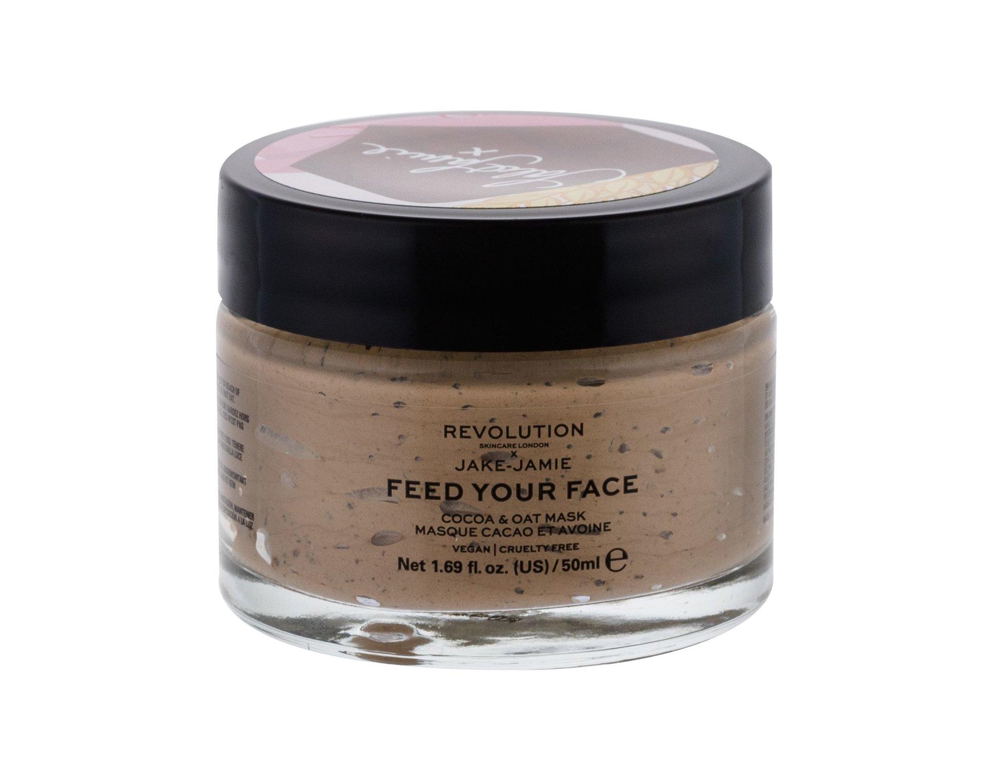 Makeup Revolution London Skincare X Jake-Jamie Face Mask 50ml Coco & Oat