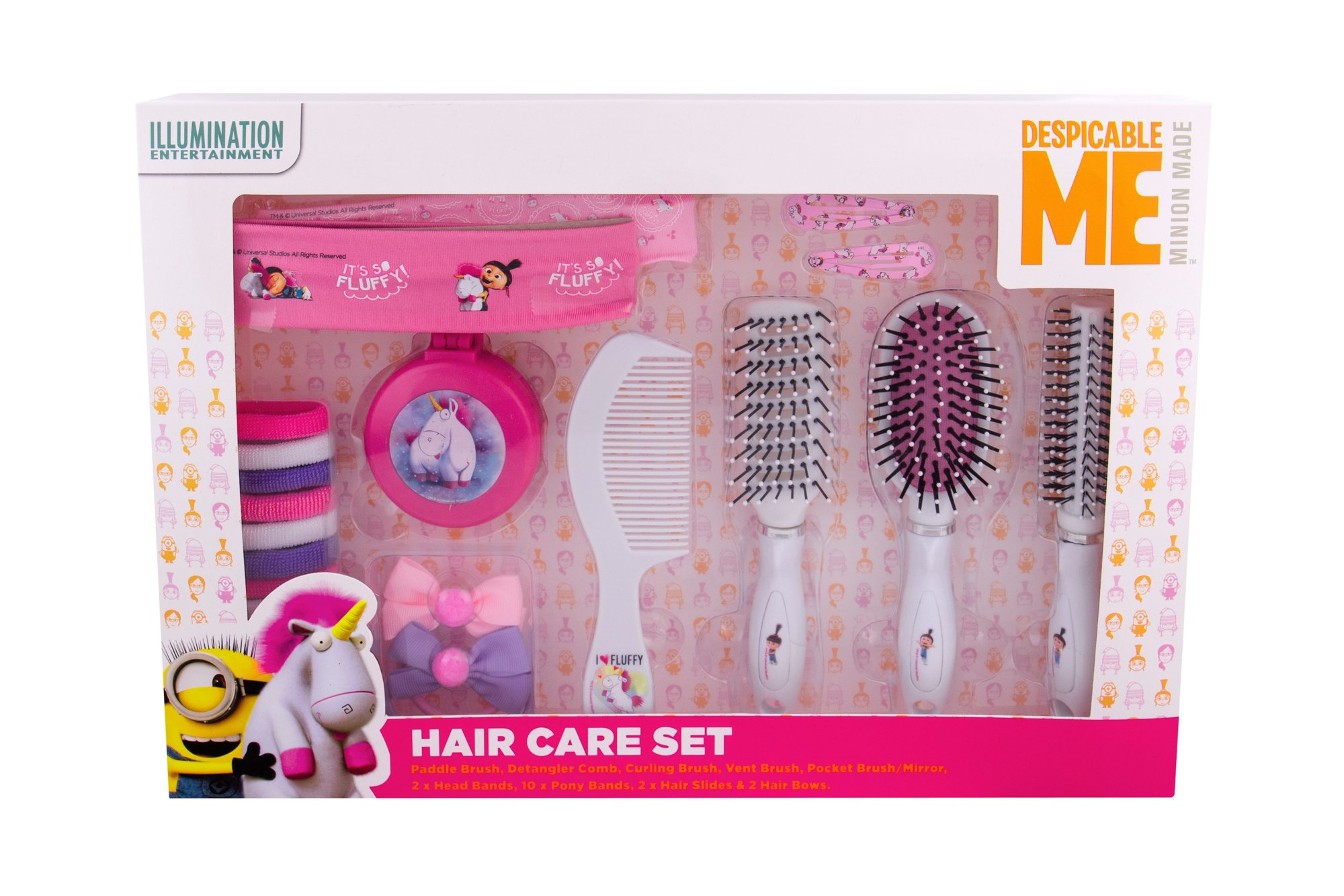 Minions Unicorns Hairbrush 1ml