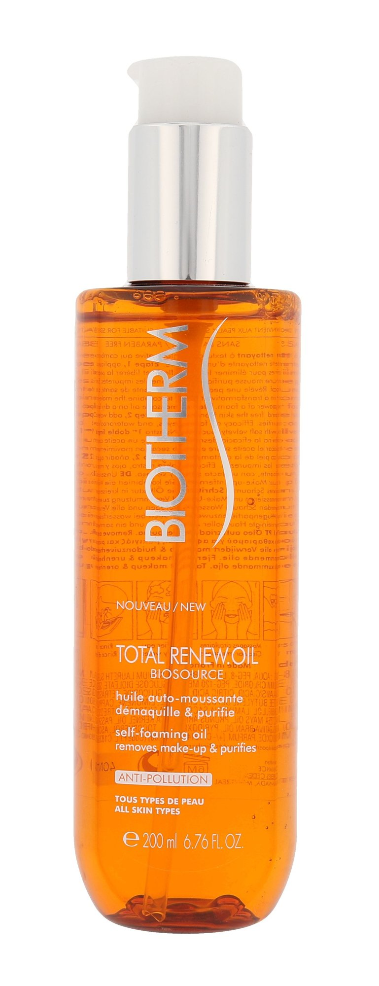 Biotherm Biosource Cleansing Oil 200ml  Total Renew Oil