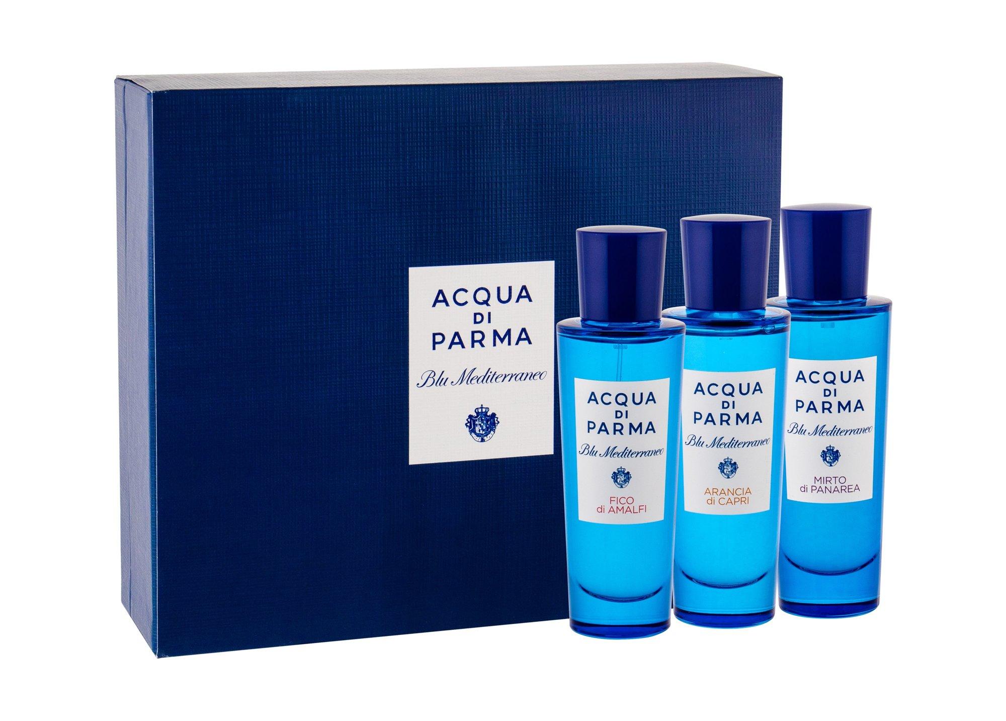 Acqua di Parma Blu Mediterraneo Eau de Toilette 3x30ml