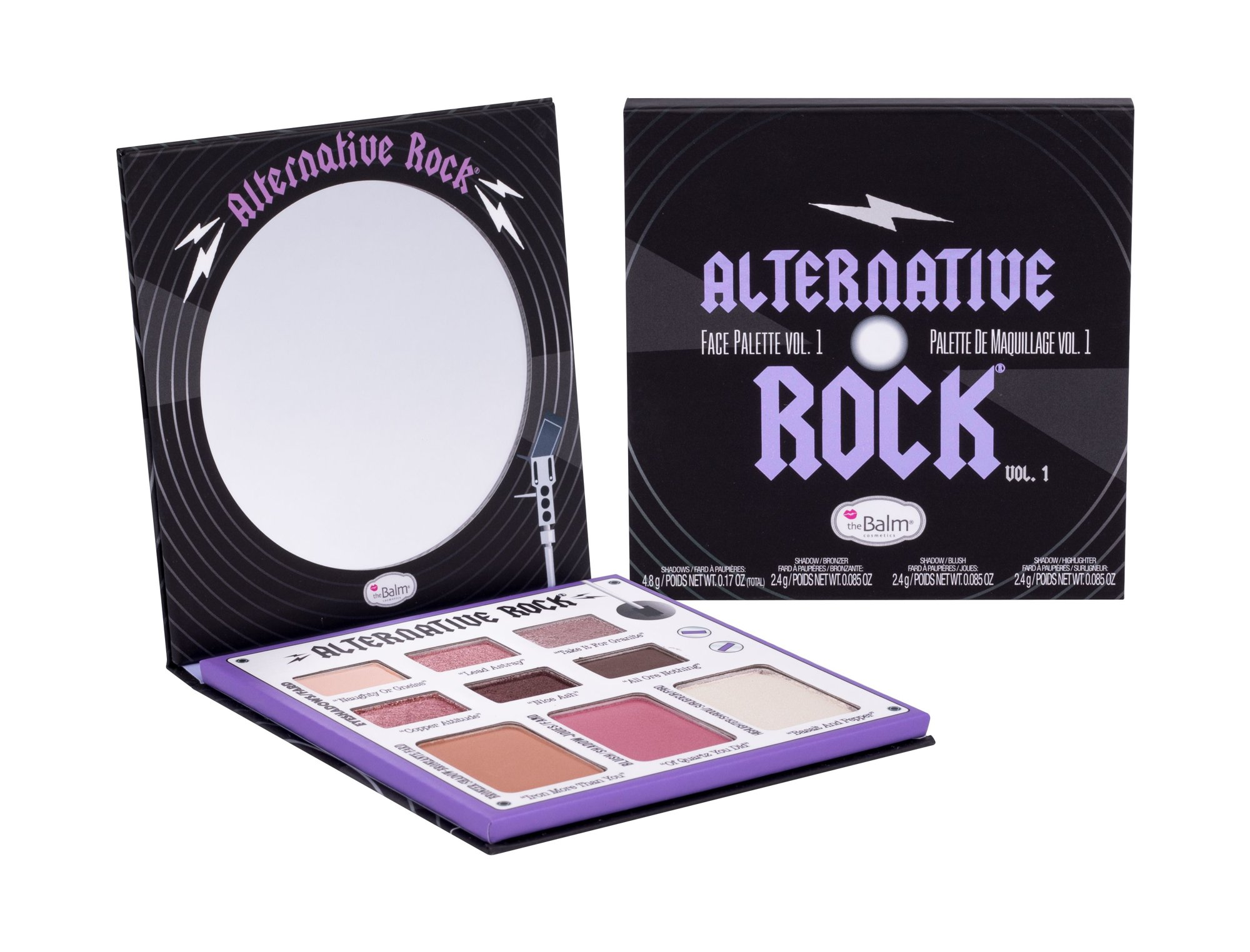 TheBalm Alternative Rock Makeup Palette 12ml