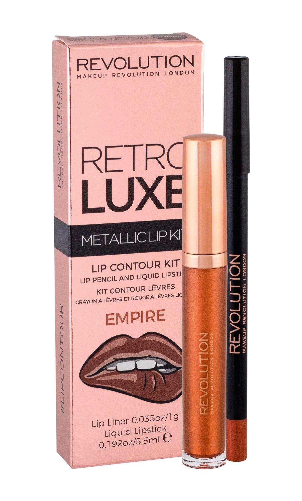 Makeup Revolution London Retro Luxe Lipstick 5,5ml Empire