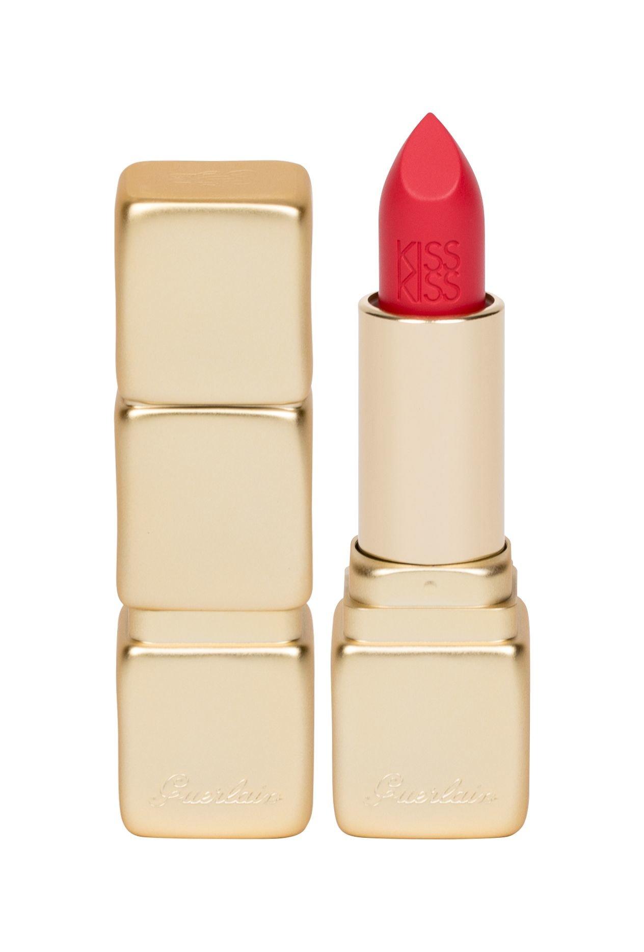 Guerlain KissKiss Lipstick 3,5ml M332 Electric Ruby