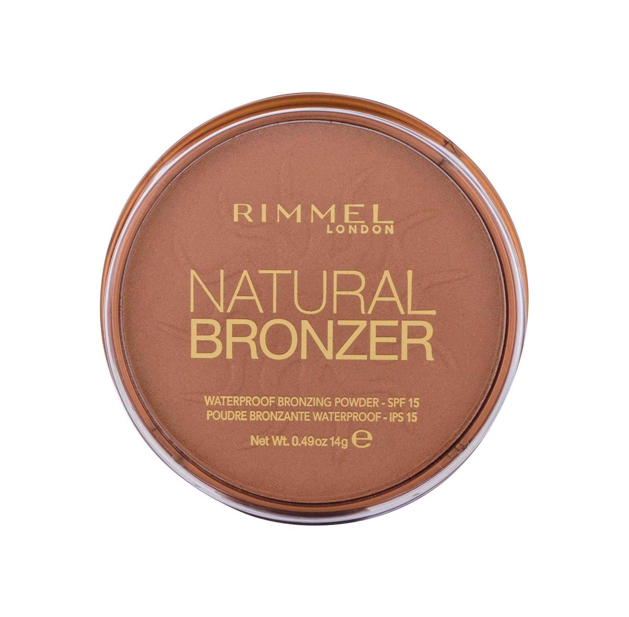 Rimmel London Natural Bronzer Bronzer 14ml 027 Sun Dance