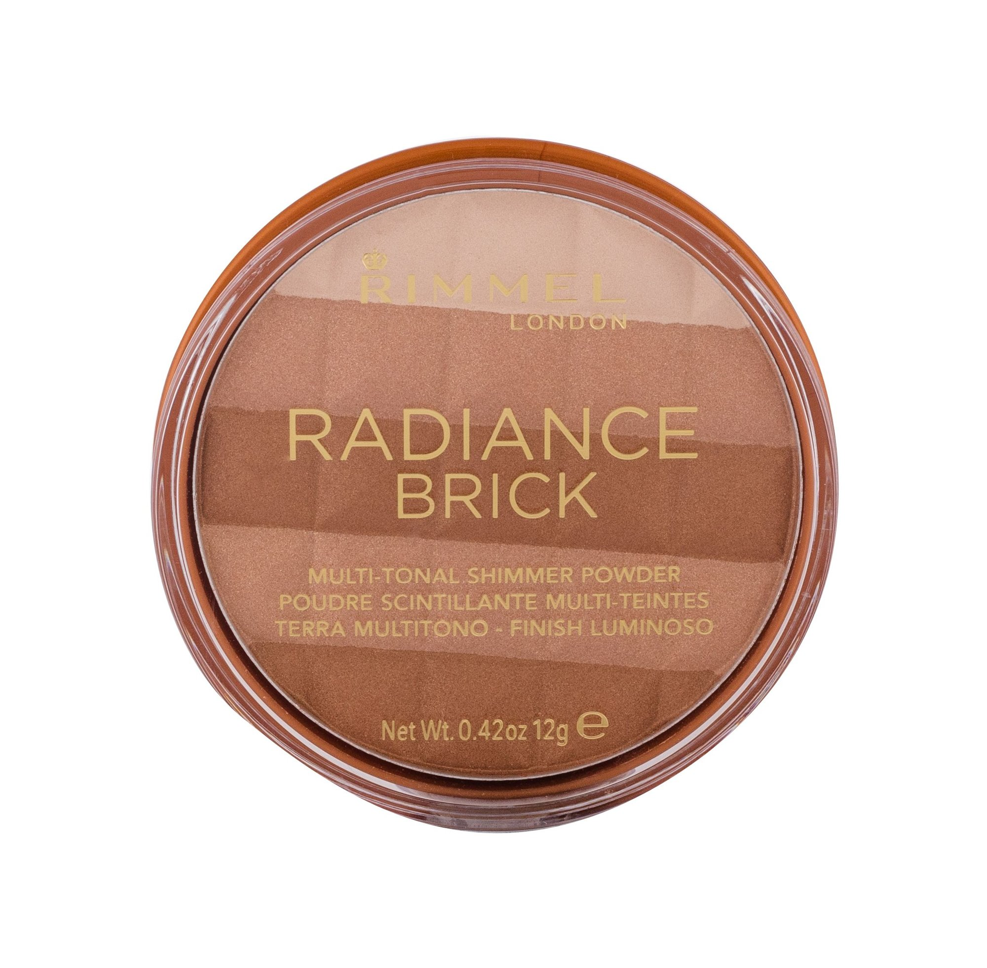 Rimmel London Radiance Brick Bronzer 12ml 001 Light