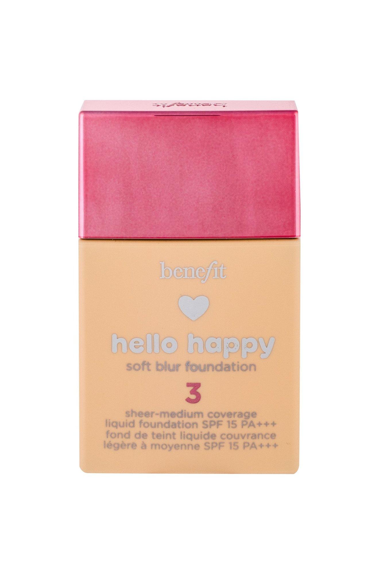 Benefit Hello Happy Makeup 30ml 03 Light Neutral