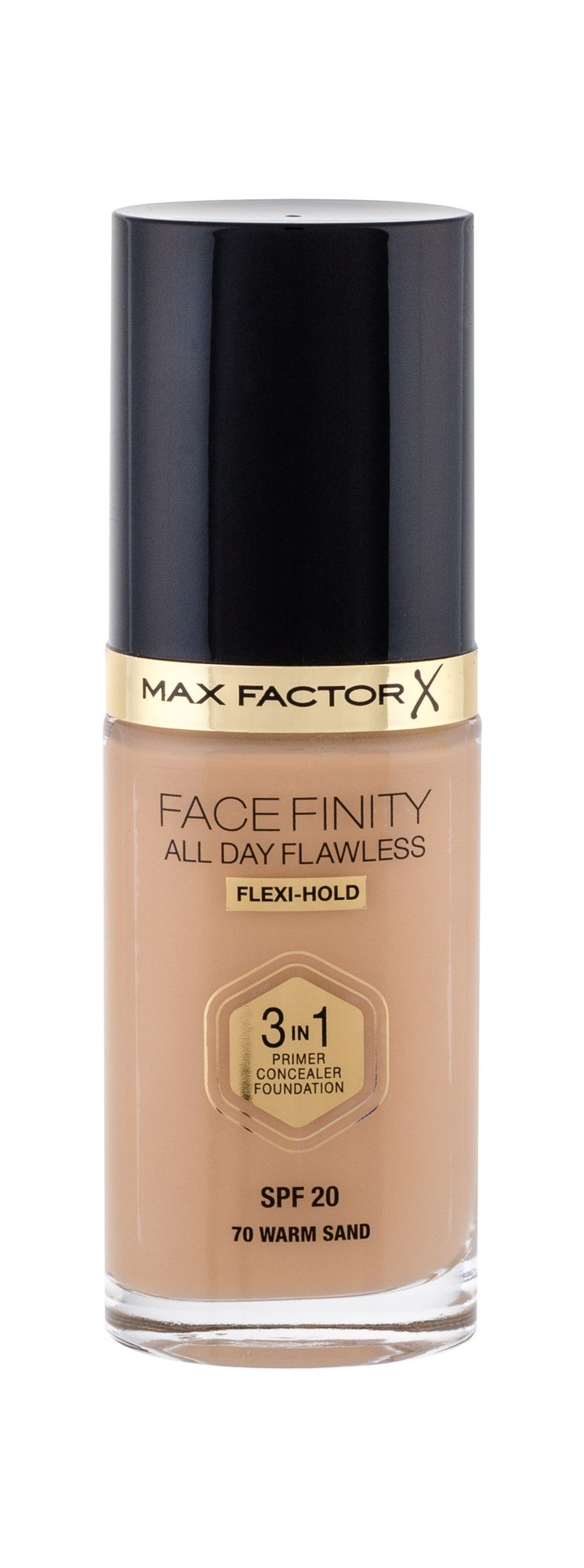 Max Factor Facefinity Makeup 30ml 70 Warm Sand