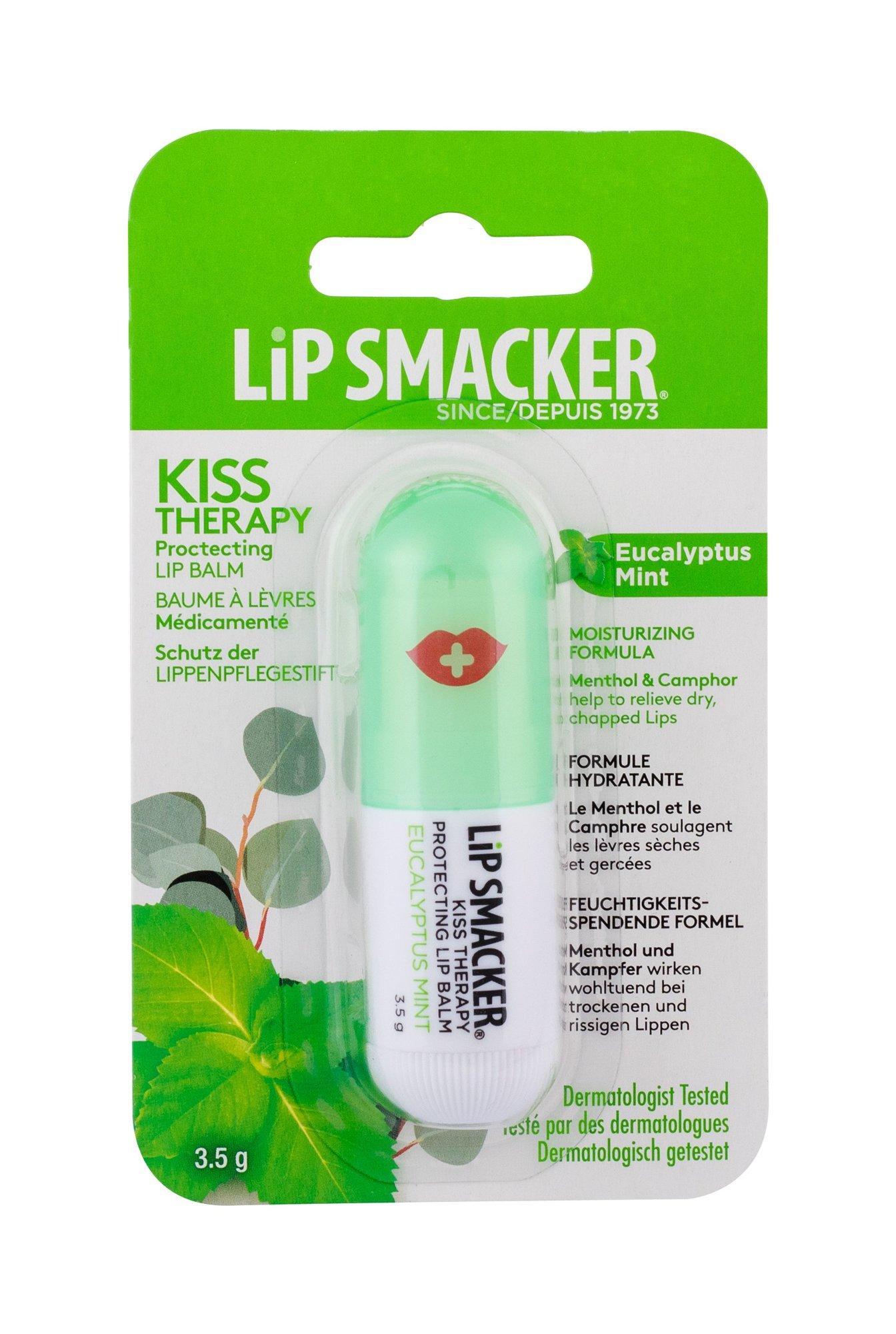Lip Smacker Kiss Therapy Lip Balm 3,5ml Eucalyptus Mint