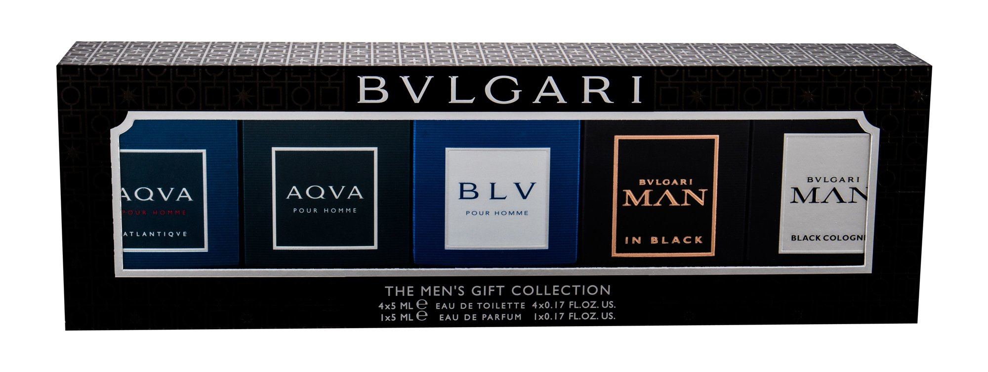 Bvlgari Mini Set Eau de Toilette 5x5ml