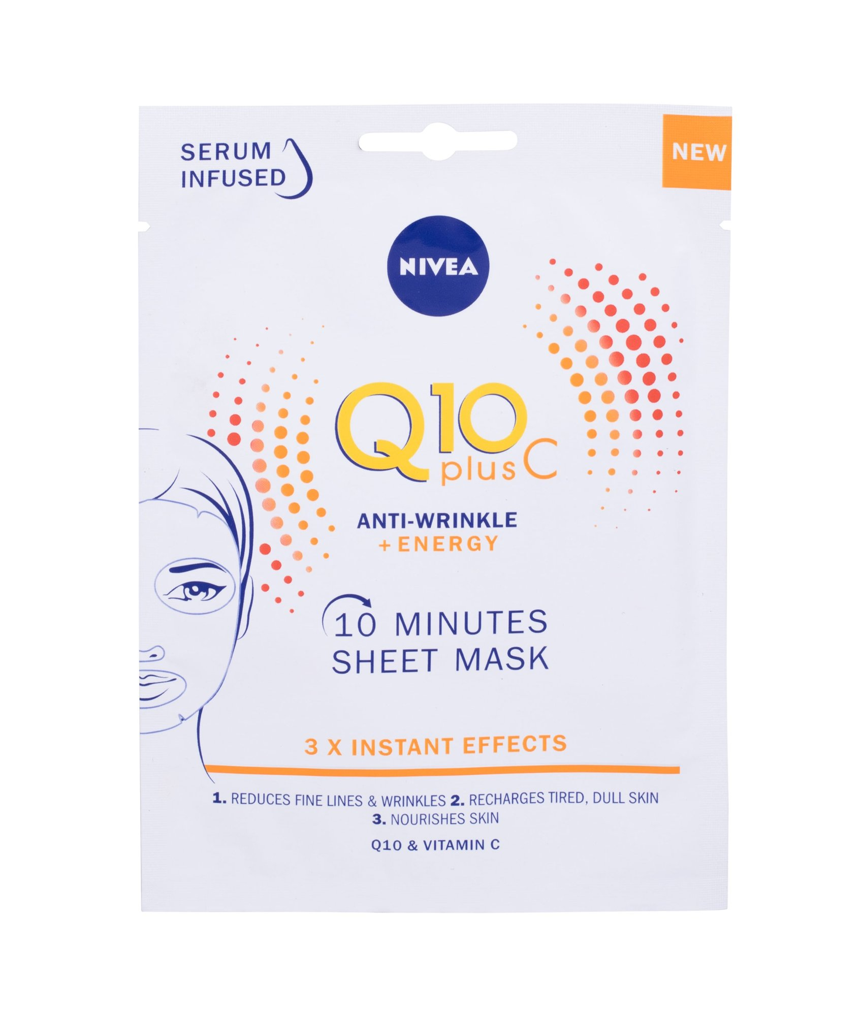 Nivea Q10 Plus C Face Mask 1ml