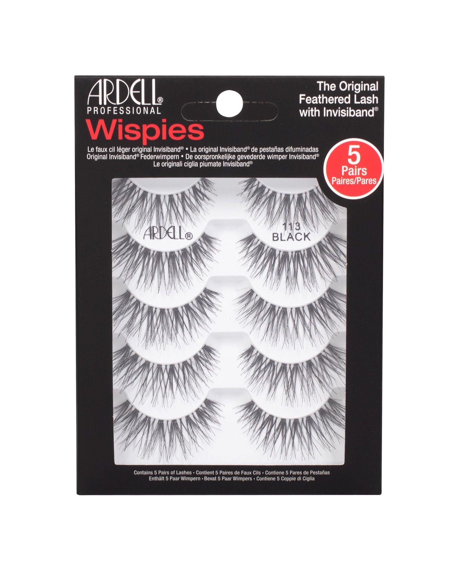 Ardell Wispies False Eyelashes 5ml Black