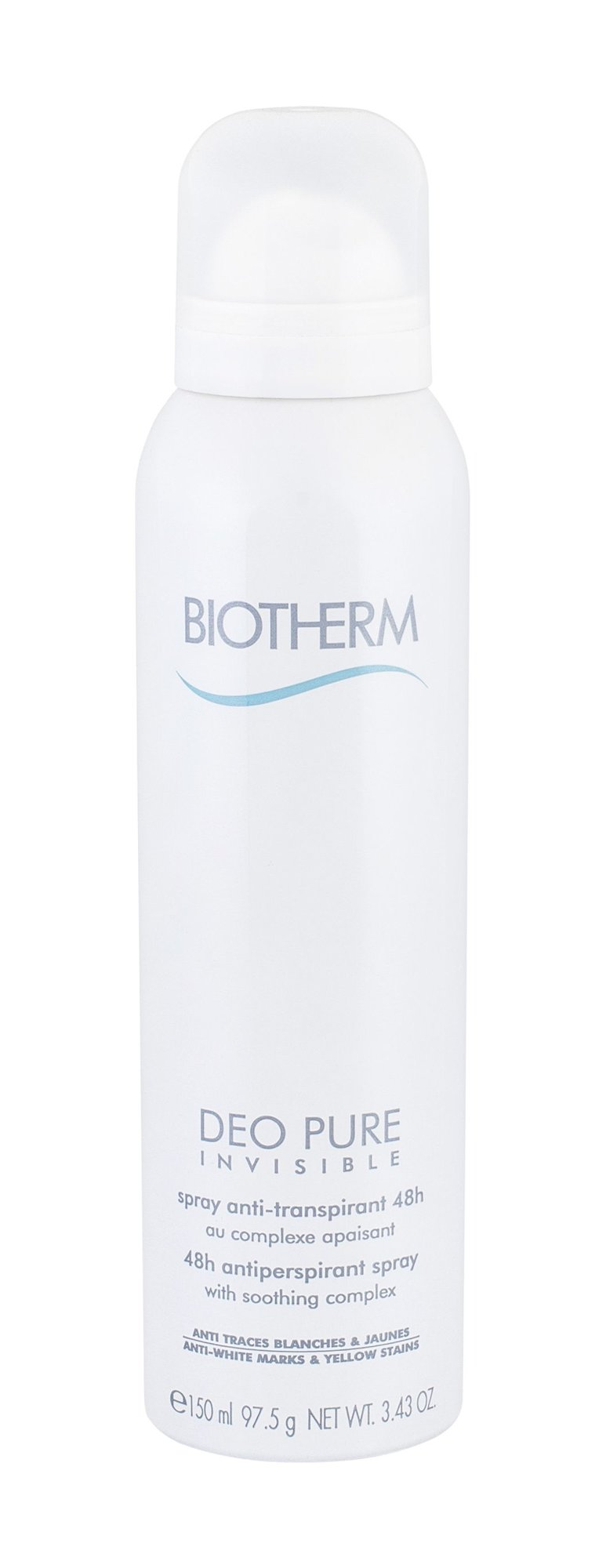 Biotherm Deo Pure Invisible Antiperspirant 150ml  48h