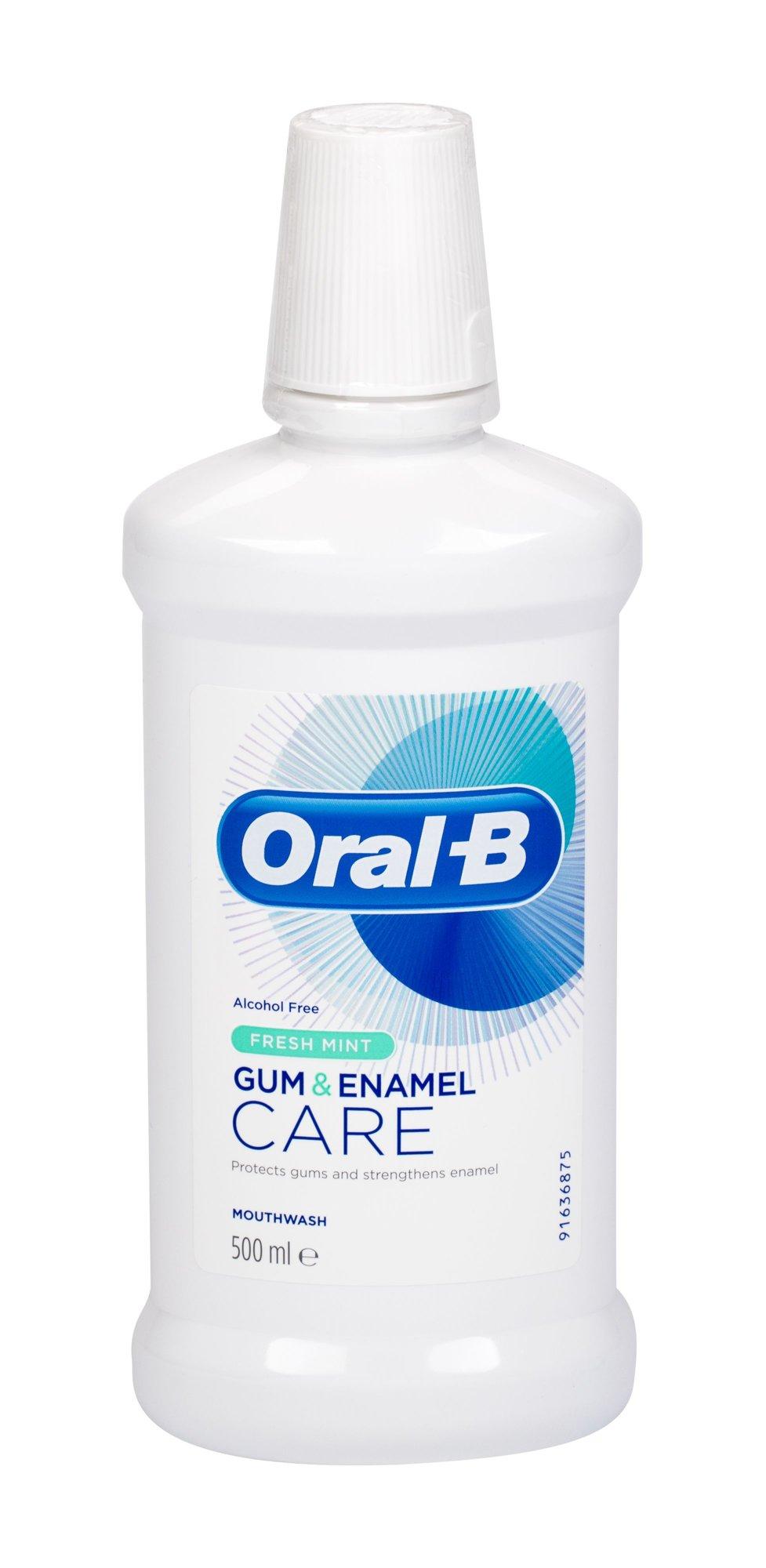 Oral-B Gum & Enamel Care Mouthwash 500ml