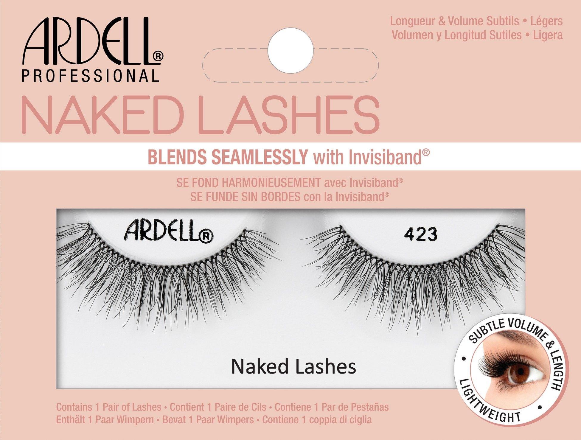 Ardell Naked Lashes False Eyelashes 1ml Black