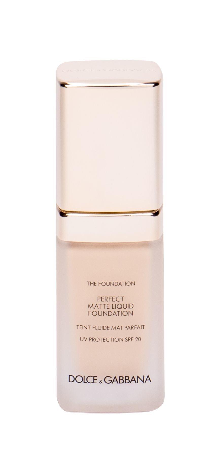 Dolce&Gabbana Velvetskin Makeup 30ml 60 Classic Perfect Matte Fluid