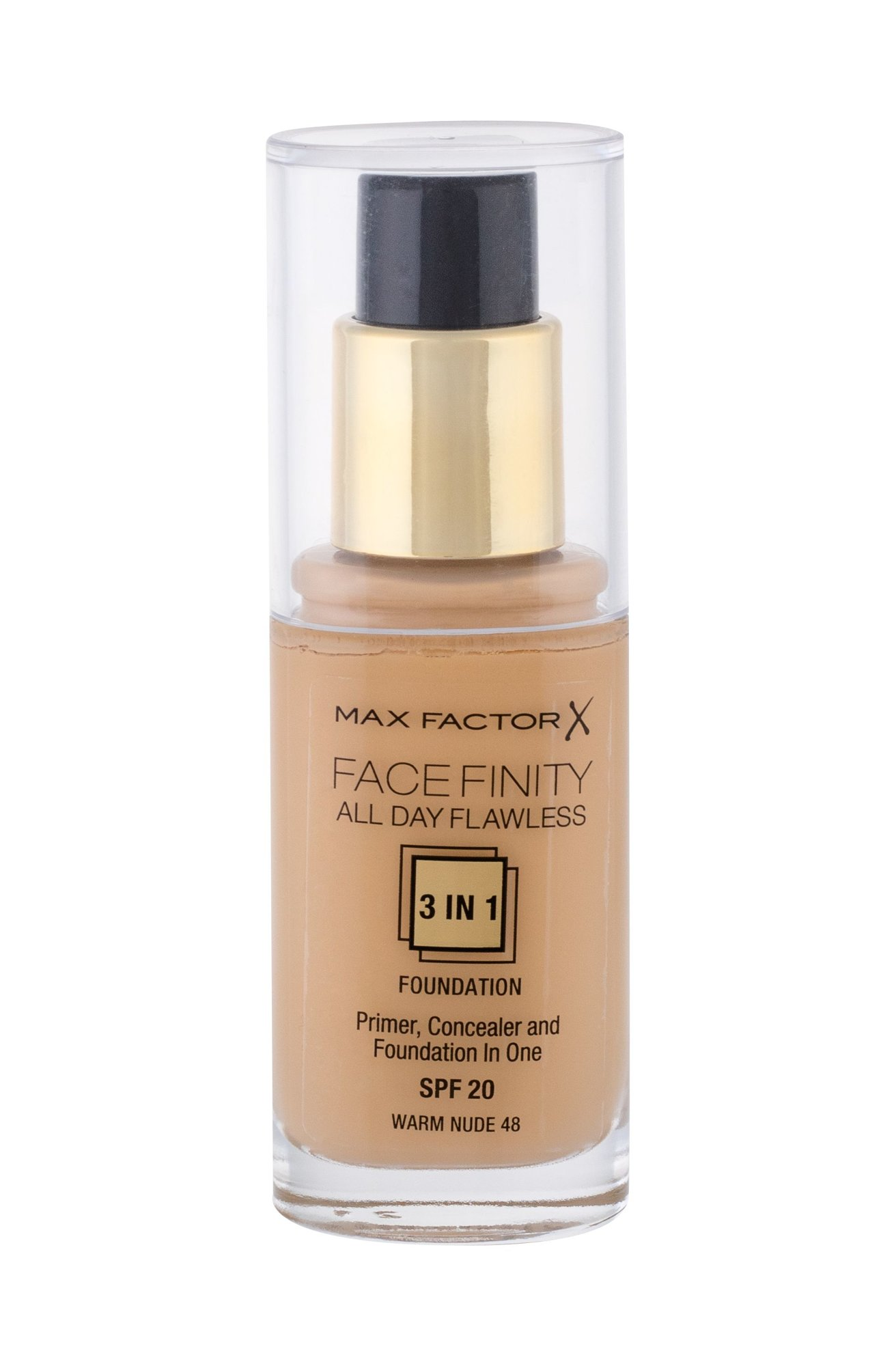Max Factor Facefinity Makeup 30ml 48 Warm Nude