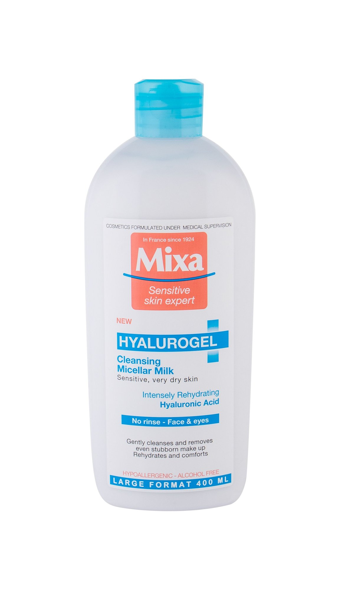 Mixa Hyalurogel Cleansing Milk 400ml