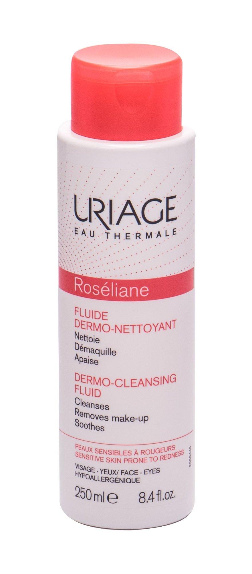 Uriage Eau Thermale Roséliane Face Cleansers 250ml  Dermo-Cleansing Fluid