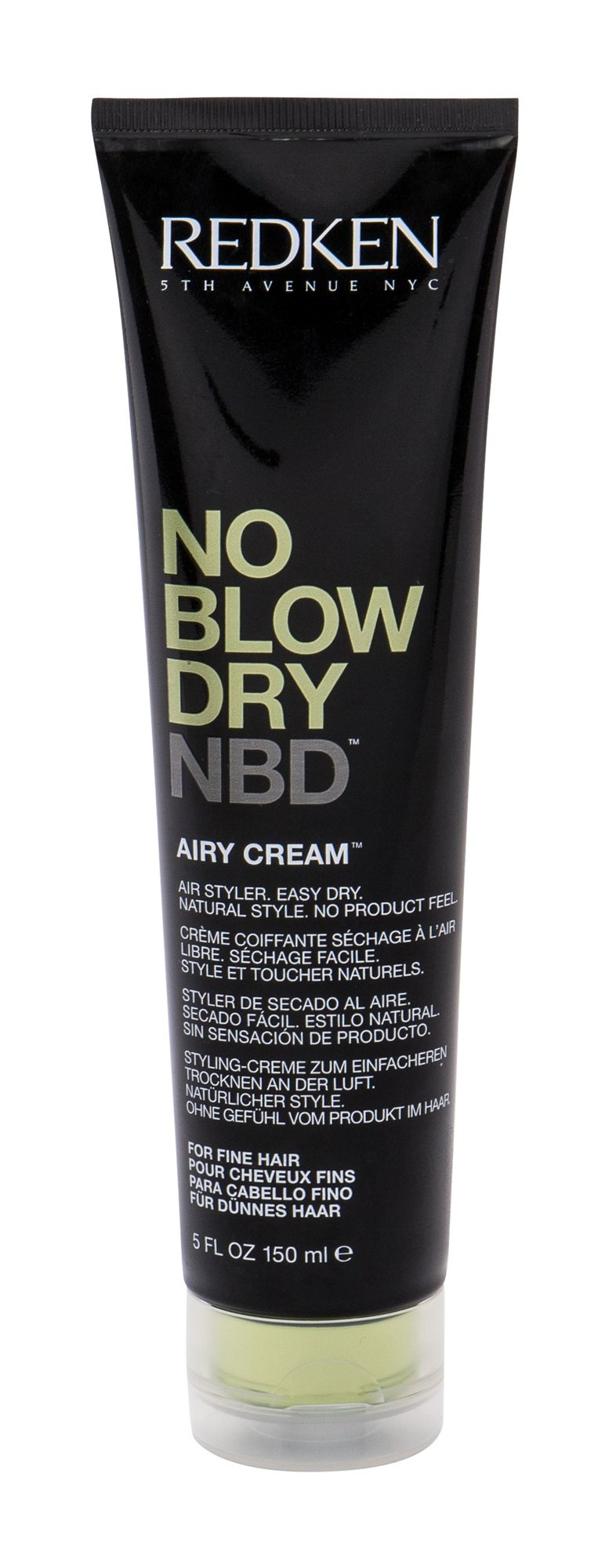 Redken No Blow Dry Hair Cream 150ml