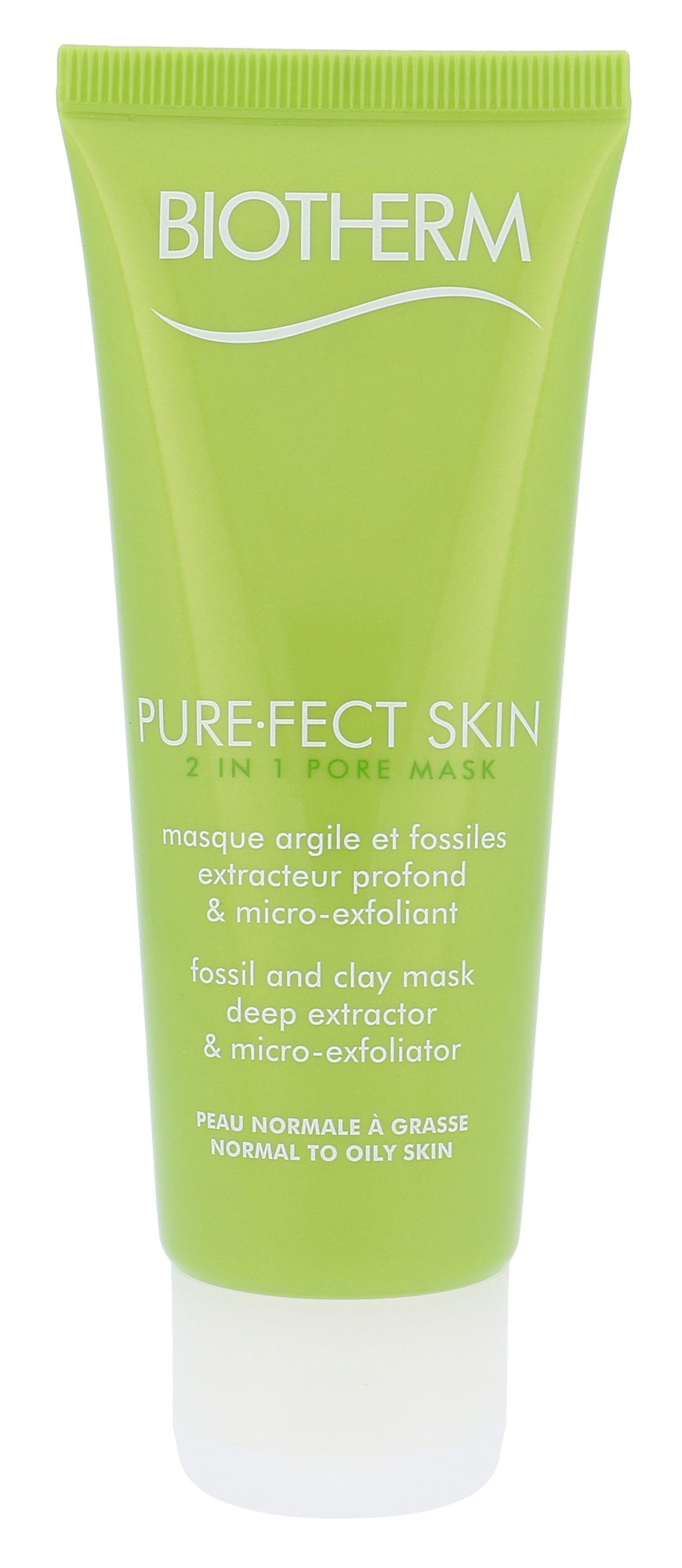 Biotherm PureFect Skin Cosmetic 75ml  2in1 Pore Mask