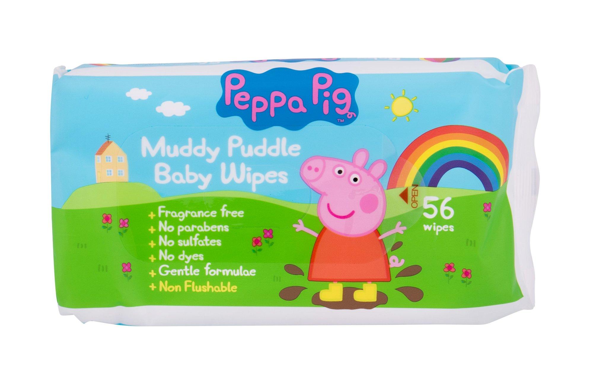Peppa Pig Peppa Cleansing Wipes 56ml