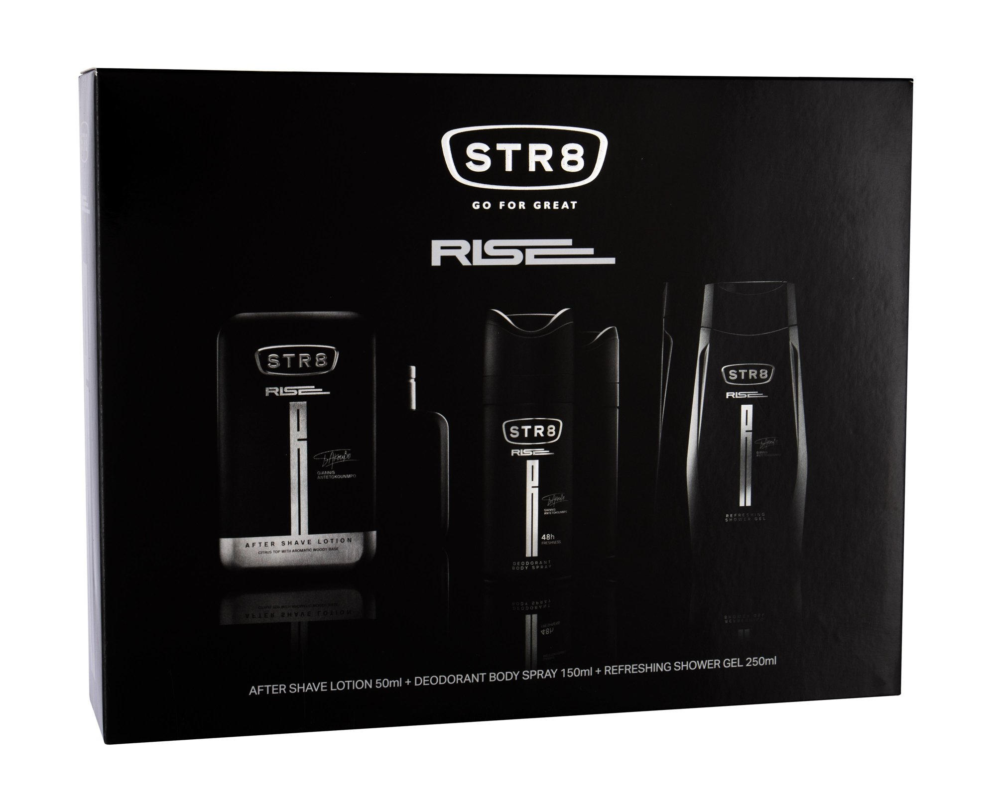 STR8 Rise Aftershave Water 50ml