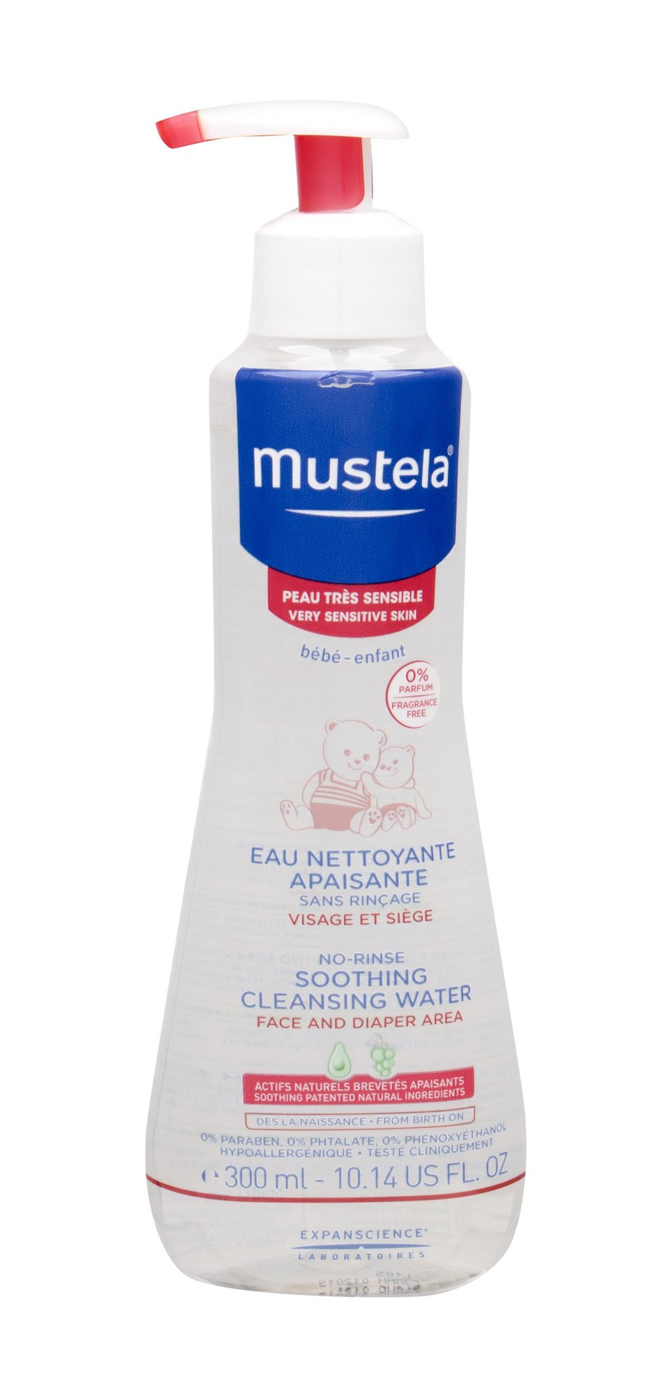 Mustela Bébé Cleansing Water 300ml