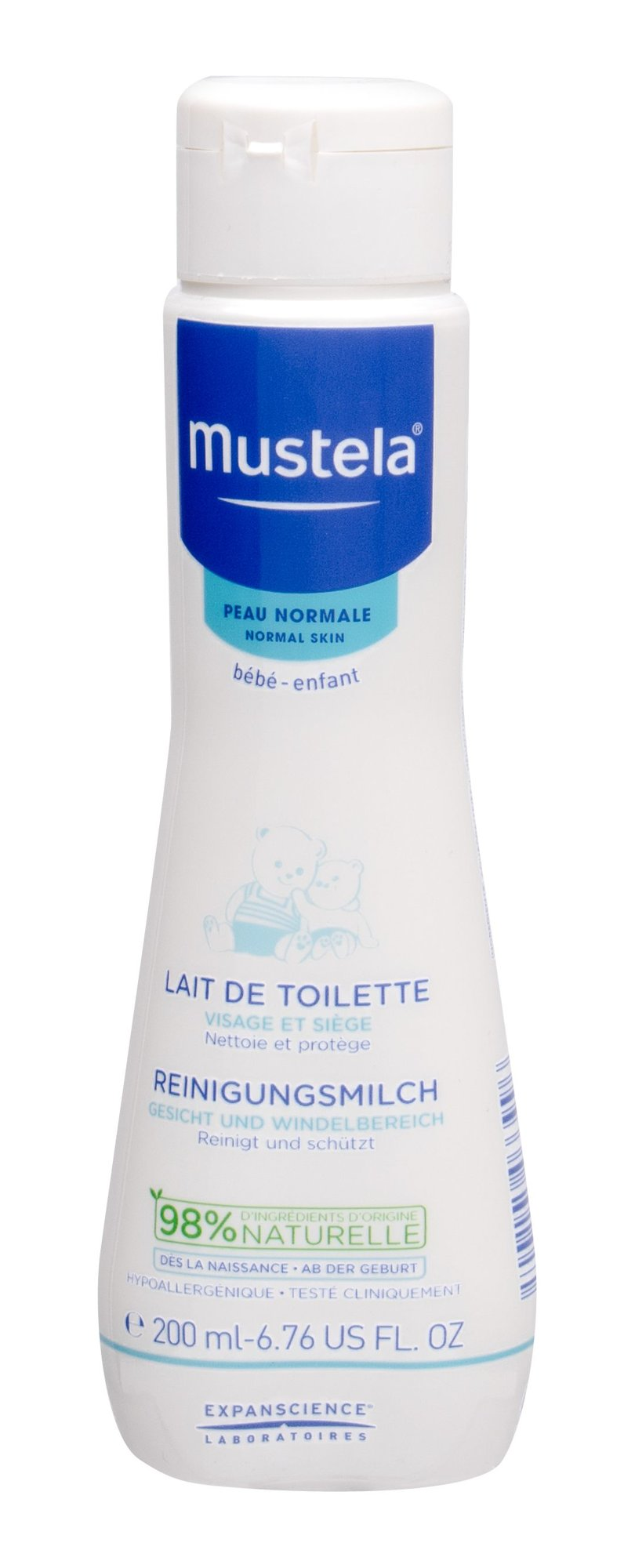 Mustela Bébé Cleansing Milk 200ml