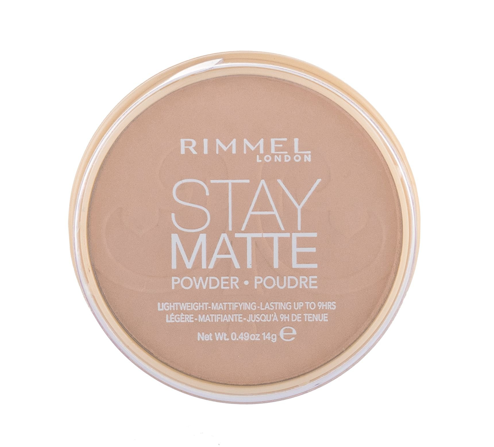 Rimmel London Stay Matte Powder 14ml 010 Warm Honey