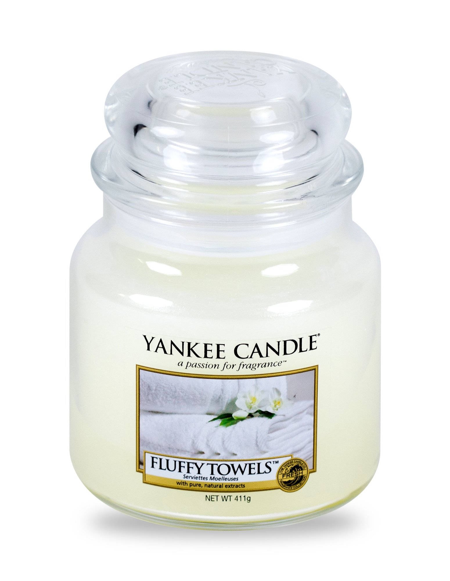 Yankee Candle Fluffy Towels Scented Candle 411ml